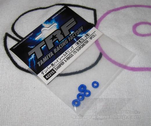 Tamiya 42215 Damper X-Rings (70 Durometer / 8 Pcs.)