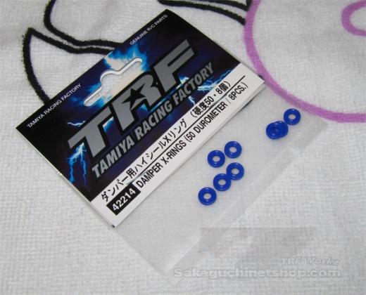 Tamiya 42214 Damper X-Rings (50 Durometer / 8 Pcs.)