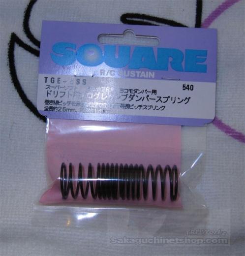 Square TGE-5SS Federn (Drift) - Superweich