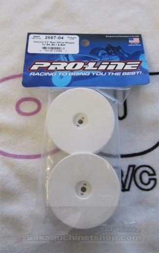 Proline 2667-04 Velocity 2WD/4WD Heckfelgen B4/B44/TRF511