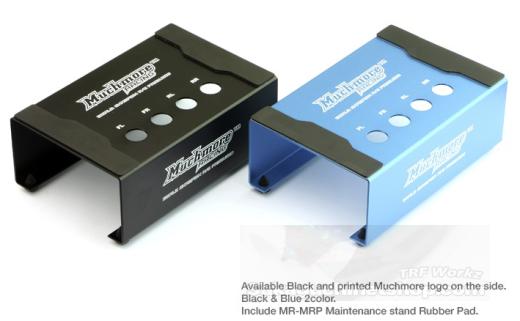 Muchmore MB-MSB Alu Montageständer für 1/10 Buggys Blau