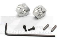 ABC-Hobby 24156 Alu Clamp-Type Hex Hubs (6mm)