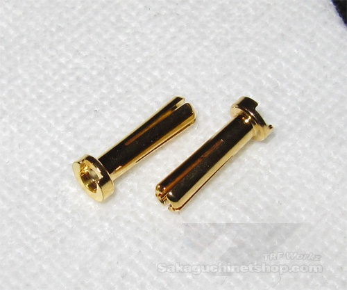 4mm Gold Connector Slotted