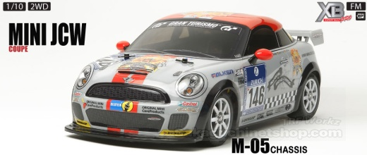 Tamiya 57829 Mini John Cooper Works Coupe M-05 FWD RTR 1/10