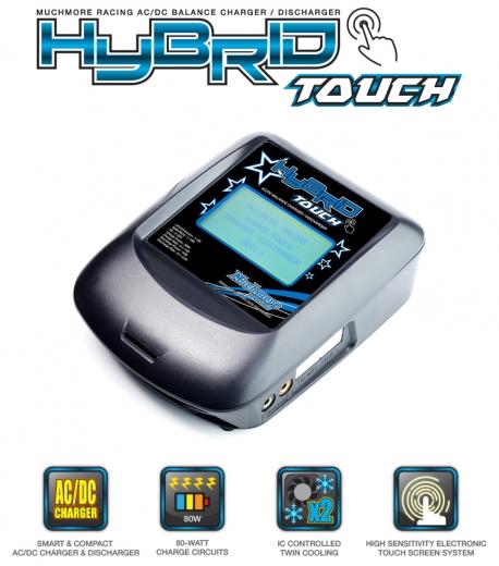 MuchMore MM-HBTK Hybrid Touch Ladegerät AC/DC
