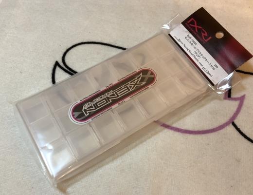 Xenon BOX-1003C Box for small plastic parts (Clear)