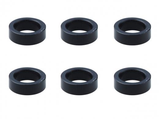 Square SGE-110BK Aluspacer 4.0 x 6.0 x 1.0mm Black