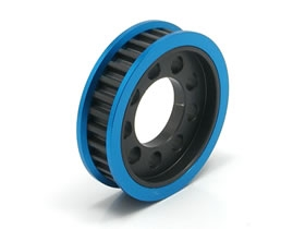 Square SVD-330 Aluminum Oneway Pully (30T) Blue