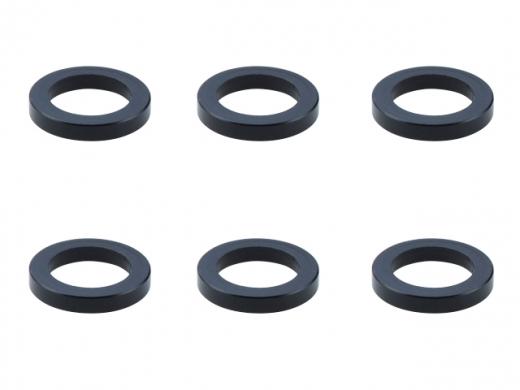 Square SGE-1120BK Aluspacer 4.0 x 6.0 x 1.0mm Black