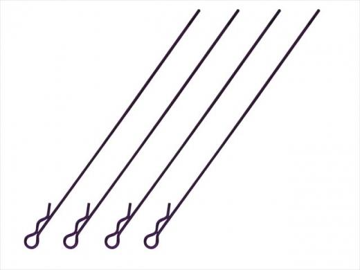 Square SGF-04P Bodypins Long Purple