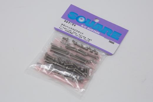 Square SDY-54 Yokomo YD-2R Titanium screw set