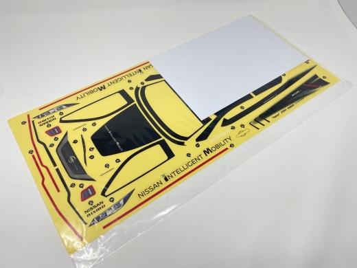 ABC-Hobby 66198 Nissan Leaf NISMO RC_02 Dekorbogen (mit Scheibenabkleber)