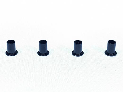 Square TGE-31 Alu Flanged Pipe for Tamiya CVA Dampers (4 St.)