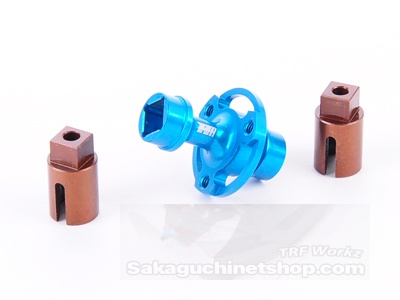 Spec-R Front Spool Set Ver. 2 w/ Spring Steel Out Drives (Tamiya 417)