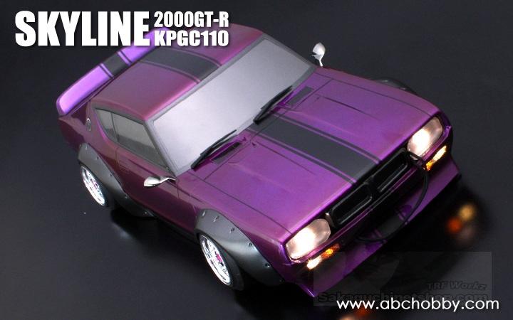 ABC-Hobby 66221 Fluoreszierendes Auspuff und Wischer Set