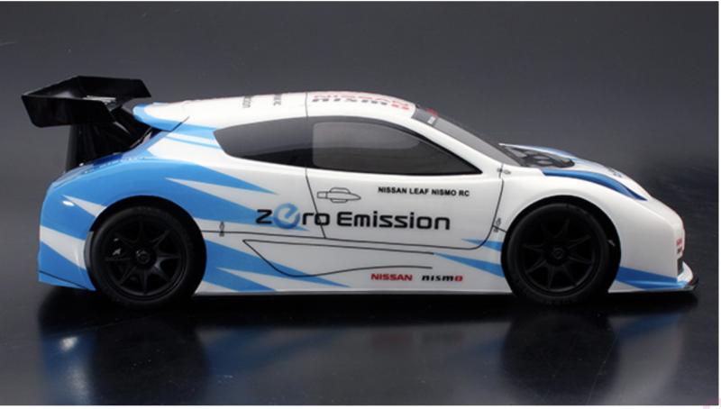 1/10 Mini ABC-Hobby Gambado Naked 2018 Chassis / Nissan Leaf LW Karosserie