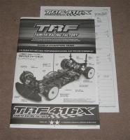 Tamiya TRF416X Bauanleitung + Setting Sheet