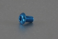 Square Aluscrew Tamiya Blue Button-Head M3x5mm