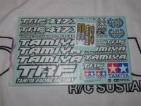 Tamiya 11424470 TRF417X Aufkleberbogen