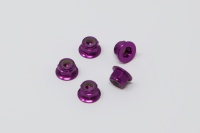 Square SGE-14FP Aluminum Wheelnuts Purple (5Pcs)