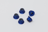 Square SGE-14FBY Aluminum Wheelnuts Yokomo Blue (5Pcs)