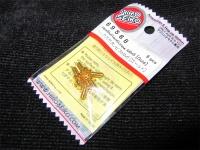 Hiro Seiko Steelscrew Gold M3 Button-Head 3x6mm (6 pcs.)