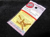 Hiro Seiko Steelscrew Gold M3 Button-Head 3x10mm (6 pcs.)