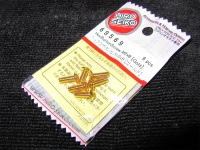 Hiro Seiko Steelscrew Gold M3 Button-Head 3x8mm (6 pcs.)