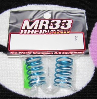 MR33 Rheinard Ride Blue Coil Springs Red 0.301kgf/mm