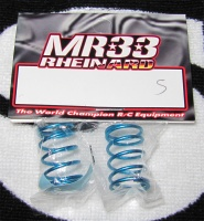 MR33 Rheinard Ride Blue Coil Springs Silver 0.268kgf/mm