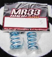 MR33 Rheinard Ride Blaue Federn Silber 0.268kgf/mm