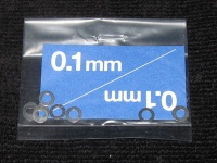 Tamiya 0.1x3mm Shim Set (10pcs.)