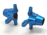Square STD-35D Tamiya TT-01D Aluminum Knuckles Blue