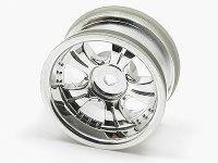 Square SEW-504 5-Spoke Chrome Wheels (4mm Offset)