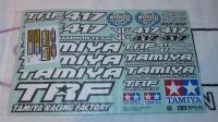 Tamiya 11424416 TRF417 Decal Set