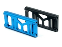 Square F-103 Aluminum Motormount Block Plate (Rear) Blue