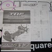 Tamiya TRF417 Manual + Setting Sheet