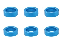 Square SGE-120 Aluspacer 4.0 x 6.0 x 2.0mm Blue