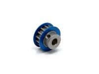 Square SGE-314 Aluminum Riemenrad Mittelwelle (14T) Blau