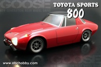 ABC-Hobby 1/10m Toyota Sports 800 (S800)