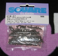 Square STM-57 Tamiya TRF416WE Titanschraubensatz