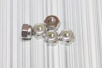 Square SGE-13S Aluminum M3 Nuts Silver (5 Pcs)