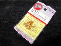 Hiro Seiko Steelscrew Gold M3 Countersunk-Head 3x8mm (6 pcs.)