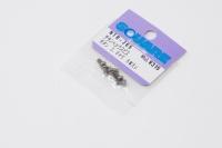 Square Titanscrew Button-Head M2.5x5mm (6 pcs.)