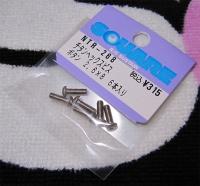Square Titanscrew Button-Head M2.5x8mm (6 pcs.)