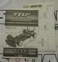 Tamiya TRF417X Bauanleitung + Setupblatt