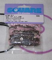 Square STM-61 Tamiya TRF417V5 42240 Titanium screw set