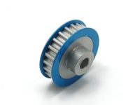 Square SGE-323 Aluminum Center Pully (23T) Blue