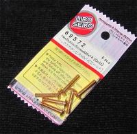 Hiro Seiko Steelscrew Gold M3 Button-Head 3x14mm (6 pcs.)