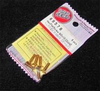 Hiro Seiko Steelscrew Gold M3 Countersunk-Head 3x10mm (6 pcs.)